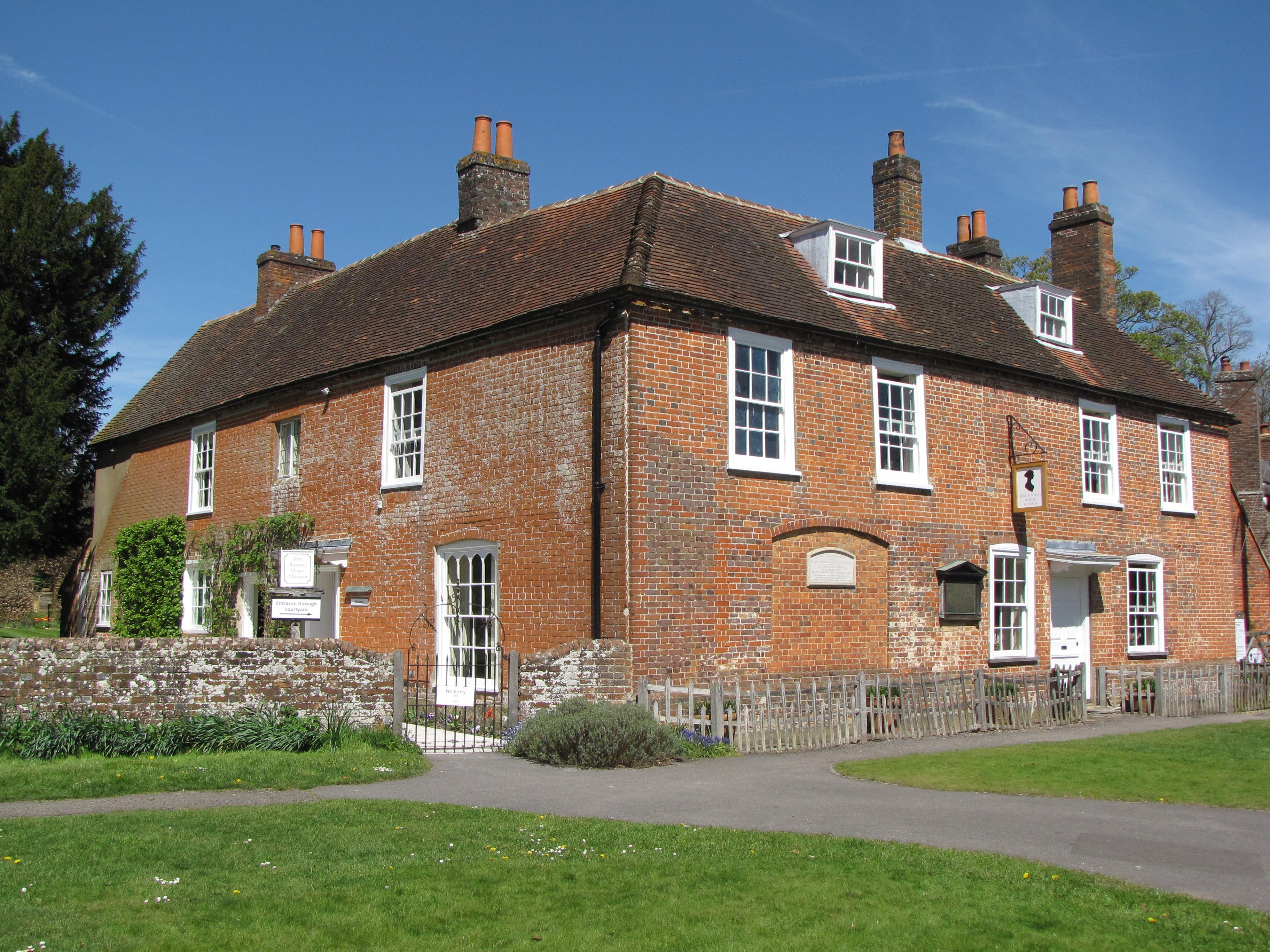 خانه موزه جین آستن در روستای استیونتون