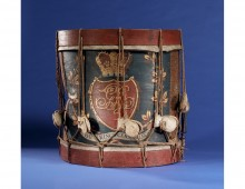 Drum of the King's German Legion. Copyright Bomann Museum Celle.