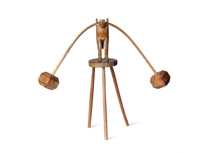 Balancing monkey toy