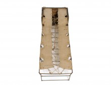 Folding Campaign Bed. Copyright The Black Watch Museum.