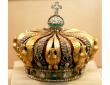 Crown of Empress Eugénie, wife of Napoleon III. Created by David Liuzzo.