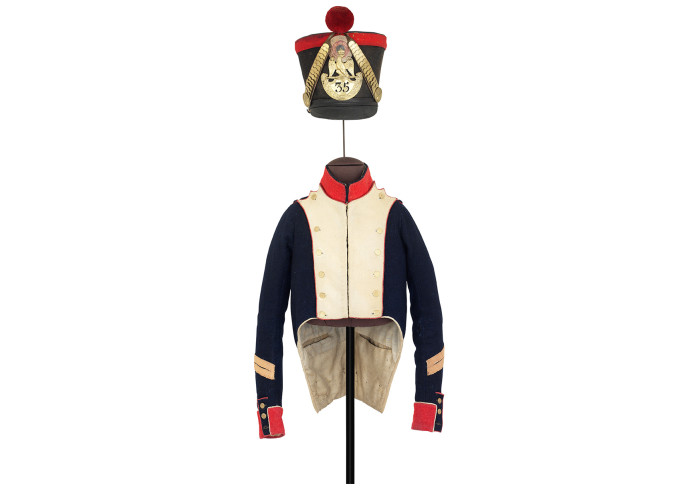 French IG Grenadier's uniform