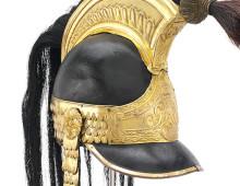 Officers helmet from Waterloo
