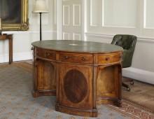 Wellington's Desk at Horse Guards. Copyright The Guards Regiment.