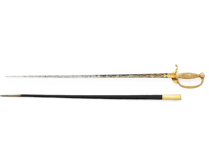 The Austerlitz Sword carried by Napoleon