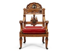 The Waterloo Chair, copyright Royal Collection.