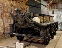 Wellingtons funeral carriage
