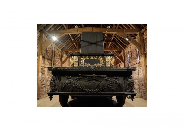 Wellingtons funeral carriage_3