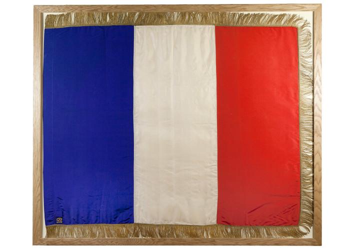 Tricolore Quit Rent Flag