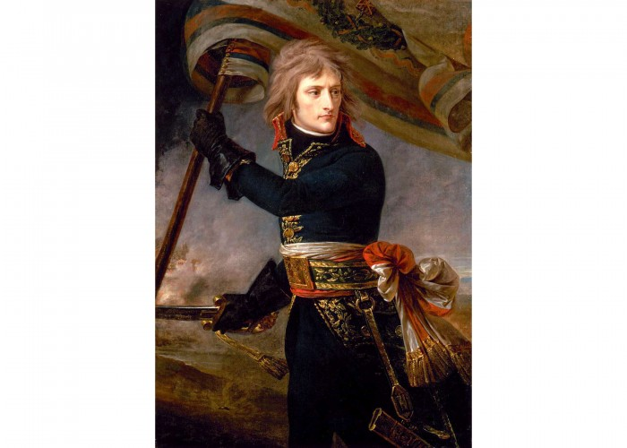 Bonaparte on the Bridge at Arcole, by Antoine-Jean Gros.