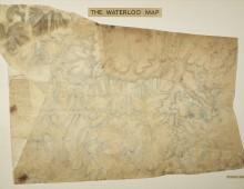 Waterloo Map. Copyright Royal Engineers Museum.