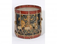 Side drum of the 1st Regiment of Foot Guards. Copyright National Army Museum.