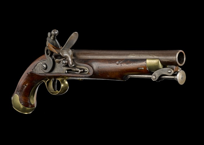 Pistol of a British cavalryman. Copyright Royal Armouries.
