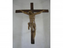 Crucifix from Hougoumont Chateau. Copyright private collection.