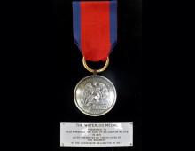 Duke of Wellington's Waterloo medal. Copyright Duke of Wellington's Regimental Museum.