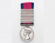 Military General Service Medal. Copyright Cornwall's Regimental Museum.