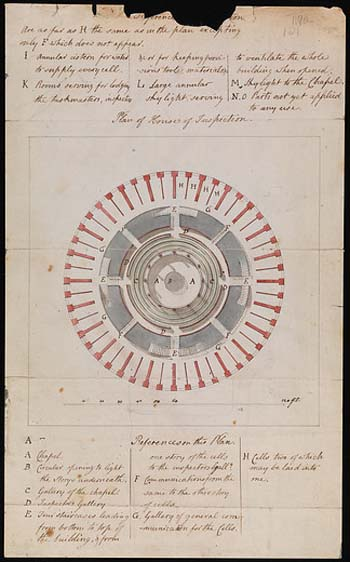 a photo of a handwritten document with a circualr drawing at its centre