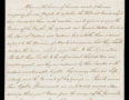 Handwritten declaration of American Independence