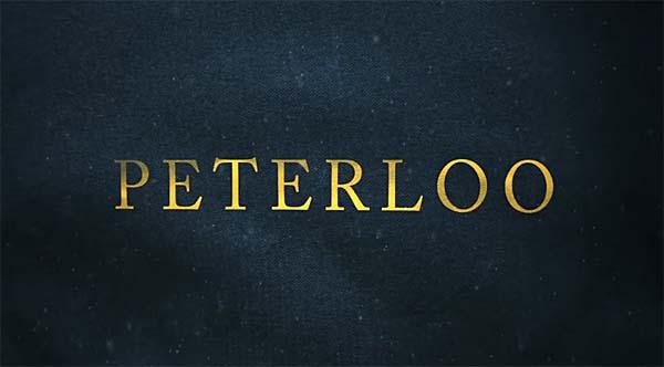 Peterloo film logo screenshot