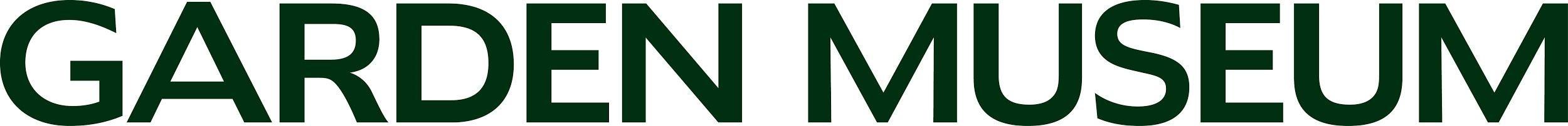 garden museum logo